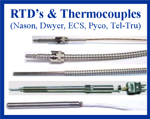 RTD's and Thermocouples